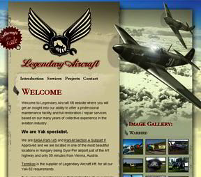 Legendary Aircraft (click for more details)