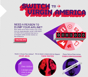 Switch to virgin America (click for more details)