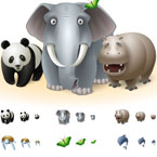 free vista icons animals