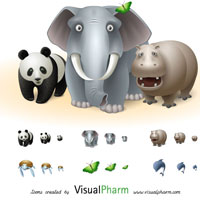vista icons animals