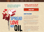 Spread Love Not Oil