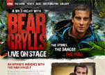 Bear Grylls Live on Stage