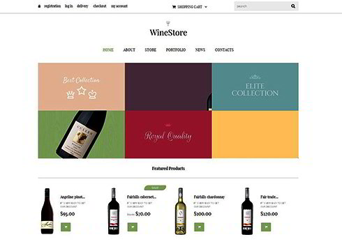 Wine for Your Delight WooCommerce Theme