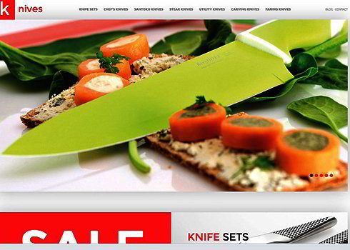 Knives PrestaShop Theme