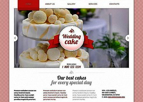 Wedding Moto CMS HTML Template