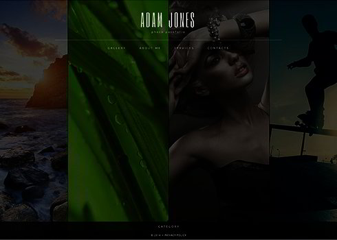 Art & Photography Website Template