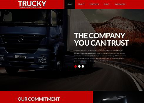 Logistics Business WordPress Theme