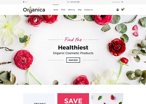 Cosmetics Store Responsive Shopify Theme