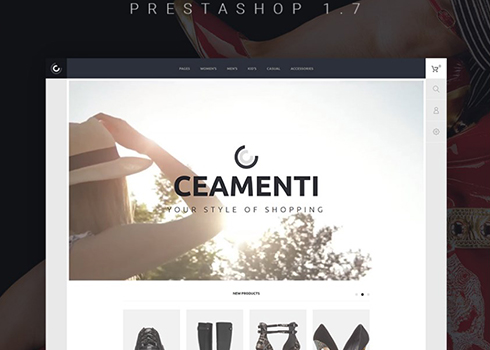 Ceamenti - Your Style of Shopping PrestaShop Theme