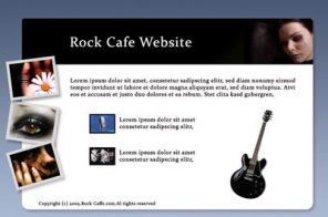 Rock Cafe Website