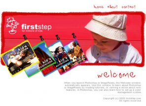 Kids Website Layout