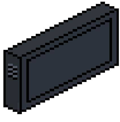 Pixel Lcd Tv | Drawing Techniques