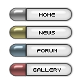 Create a clean pill shaped button
