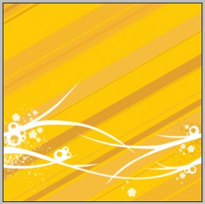 Create a Nice Yellow Background Illustration