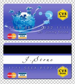 Create a nice credit card in photoshop cs