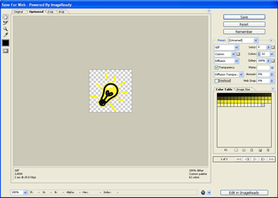 Draw a Light Bulb Image Using Photoshop