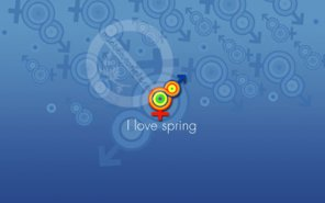 I Love Spring Wallpaper