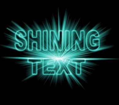 Shining Neon Text Effect in Photoshop - abduzeedo.com