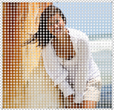 step8000 vector Halftone Background