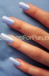 Manipulating Nails by Increasing Length and Changing Shade