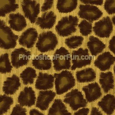 Леопардовая текстура.