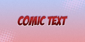 How to Create Comic Text Effect