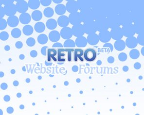Retro Vector Splash Page