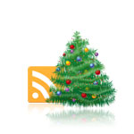 Christmas RSS Icon (Exclusive Tutorial)