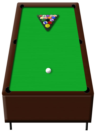 Create a 3D Pool Table in Minutes | Drawing Techniques