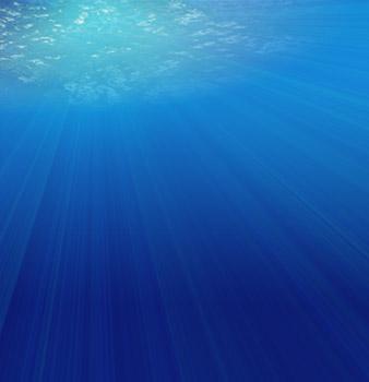 Underwater Sunset Tutorial: Final Result