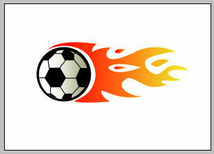 Soccer Ball on Fire | Drawing Techniques
