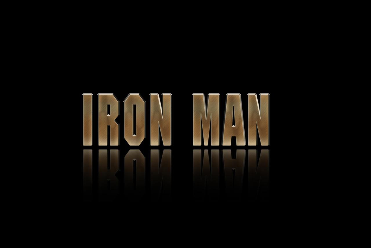 Iron Man Wallpaper - Part 1 | Text Effects