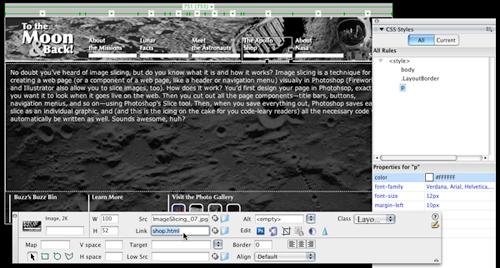 Image Slicing in Photoshop CS3 image 5