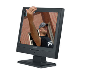 3D Computer Monitor Image