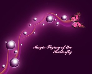 Magic Flying of the Butterfly