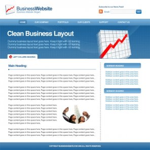 How to Design a Clean Business Layout