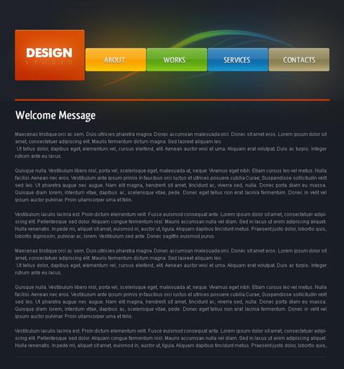 Design Studio - Web Page Layout