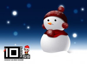 Draw your Snowman in Photoshop