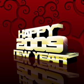 3D New Year Text in Photoshop