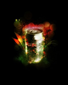 Make a Grassy and Flowery Soft Drink Can in Photoshop