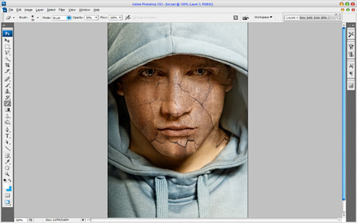 Adding Texture to the Skin image 5