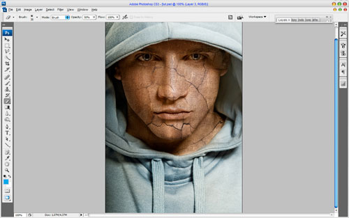 Adding Texture to the Skin image 6