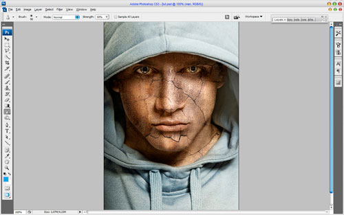 Adding Texture to the Skin image 10