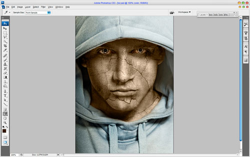 Adding Texture to the Skin image 12