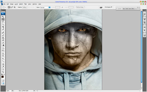 Adding Texture to the Skin image 15