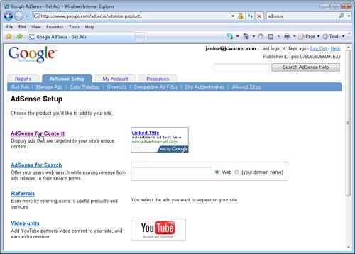 Insert Google Ads with Dreamweaver image 1