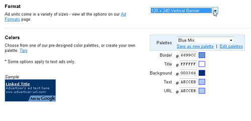 Insert Google Ads with Dreamweaver image 2