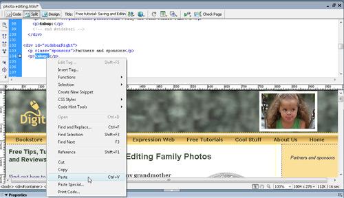 Insert Google Ads with Dreamweaver image 5