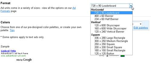Insert Google Ads with Dreamweaver image 8