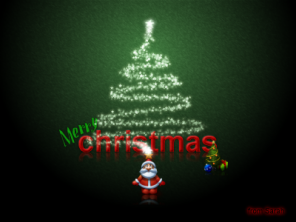 Create a holiday e card in gimp